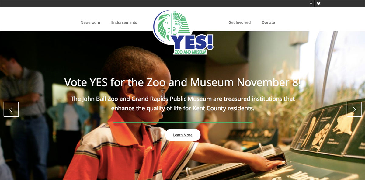 Yes Zoo Museum Website